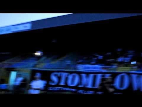 Doping na prezentacji piłkarzy Stomilu Olsztyn przed sezonem