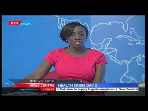 News Centre 6th December 2016 - [Part 1] - Health Crisis Day Two