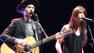 BECK feat. Charlotte GAINSBOURG - Heaven can wait Live @ Festival DAYS OFF (Paris 2013)