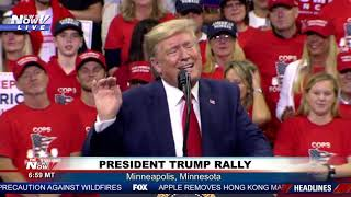 FULL RALLY: President Trump rally in Minneapolis, MN