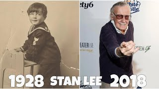 Stan Lee through the years, Then and Now Tribute