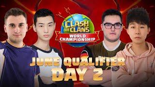 Clash Worlds June Qualifier Day 2 | Clash of Clans