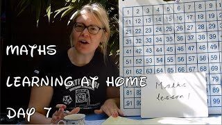 Reception MATHS Day 7 - Learning At Home