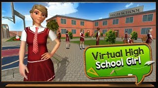 ► What Happens When Girls Go Back Science Lab   Virtual High School Girl Android Gameplay