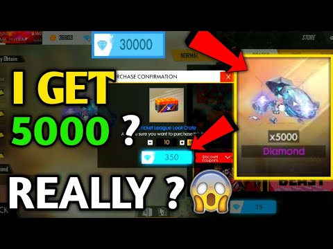 I Get 5000 Diamonds?? Free Fire | Cricket League Box In Free Fire Battleground | By F.F Gaming