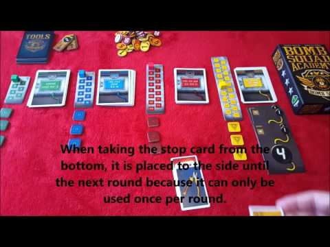 Bomb Squad Academy Review by The board Game Renegade