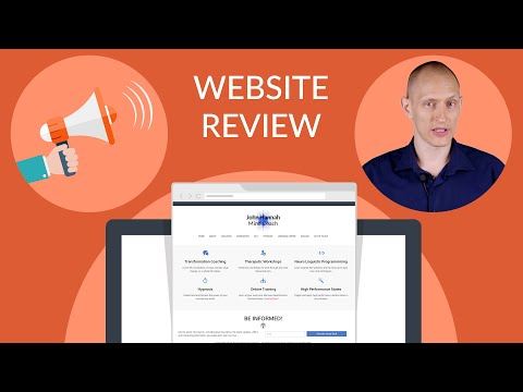 How to Improve a Personal Coaching Website