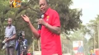 """Jubilee wakita hema Nyeri kwa kampeni za """"Uhuru tano tena"""""""