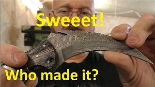 The Mystery Of The Damascus Karambit