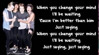 Just Saying - 5 Seconds of Summer (Lyrics)