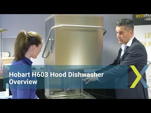 Hobart H603 Hood Dishwasher Overview