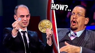 He Blew Penn & Teller Away With This Impossible Illusion