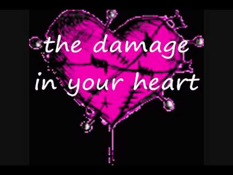 the damage in your heart weezer lyrics .wmv