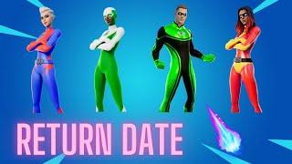 Superhero Skins Return Release Date In Fortnite Item Shop! (Superhero Skins Coming Back)
