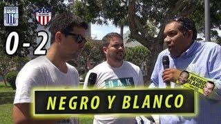 Negro y Blanco: ¿fue vergonzosa la derrota de Alianza Lima contra el Junior?