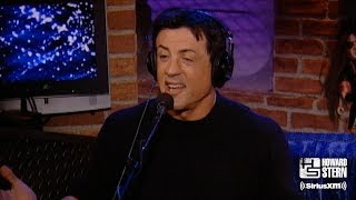 "Sylvester Stallone Takes Howard Behind the Scenes of ""Rocky"" and ""Rambo"""