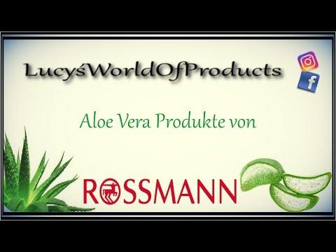 Aloe Vera Produkte von Rossmann ♡