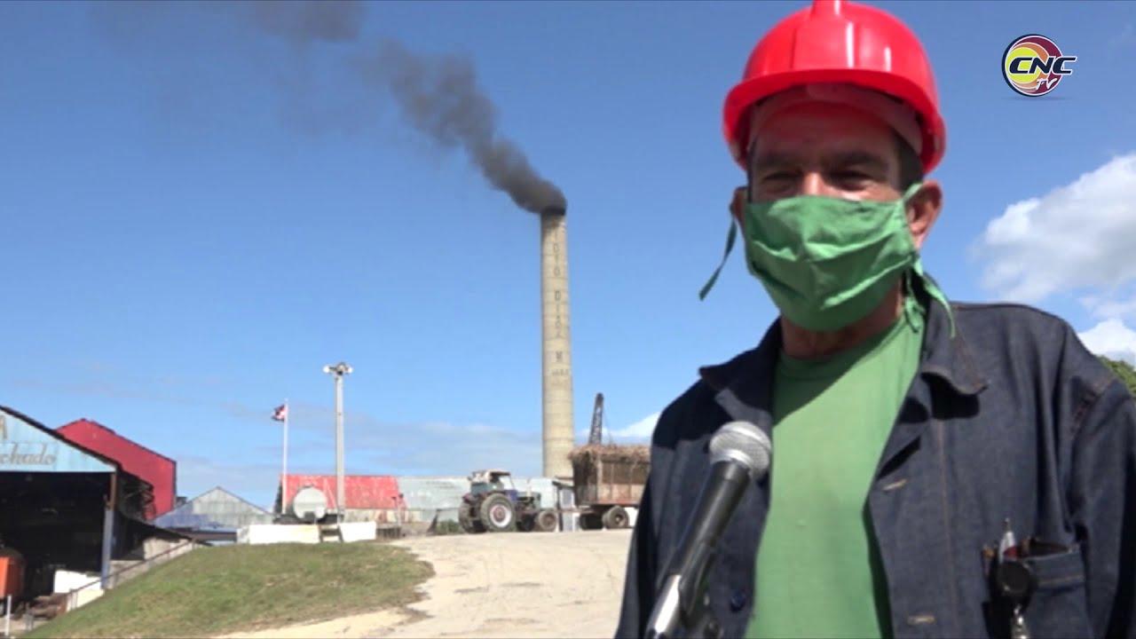 Avanza zafra azucarera en el central Enidio Díaz