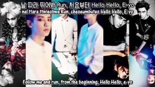 EXO-K - Run (Kor Ver.) + [English Subs/Romanization/Hangul]