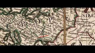 Украина на картах 1698 и 1778 годов