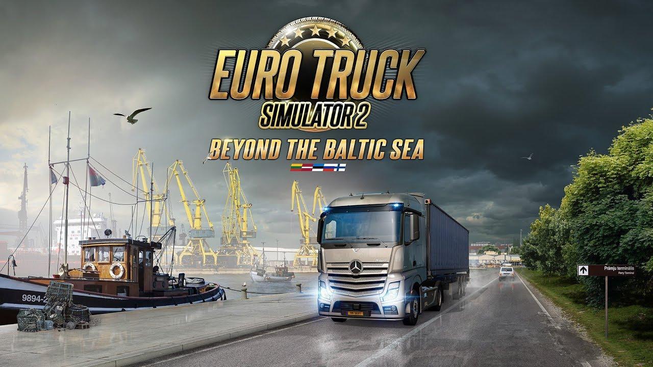 Euro Truck Simulator 2 - Beyond the Baltic Sea (DLC) Steam Key GLOBAL