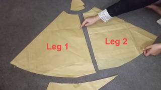Sharara | Sharara Drafting,Measurements And Cutting Step by Step Tutorial | For Beginners| Pakistani