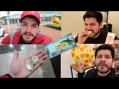 ● 1 DIA COMIENDO con SOLO $100 en COSTA RICA | Benshorts