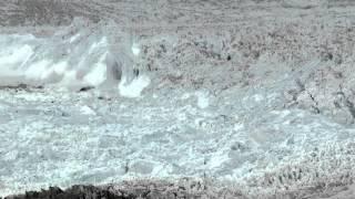 Эта Камера Зафиксировала Захватывающее, Тем Не Менее Страшное Зрелище В Гренландии.