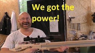 The Lego Sniper Rail Gun!