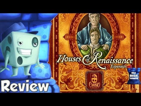Lorenzo il Magnifico: Houses of Renaissance Review   with Tom Vasel
