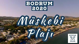 Bodrum Müskebi (Ortakent) ve Yahşi Plajı Drone Görüntüleri 2020 Haziran - DJI Phantom
