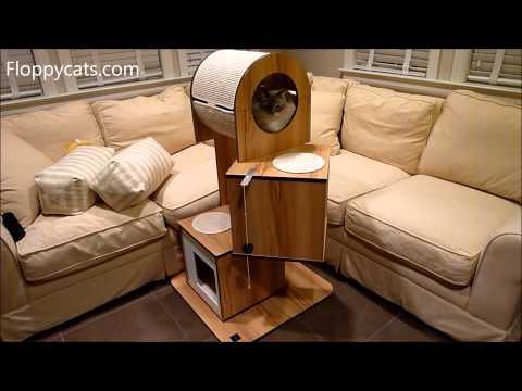 Hagen Vesper V-Tower Modern Cat Tree Furniture Product Review – ねこ – ラグドール – Floppycats