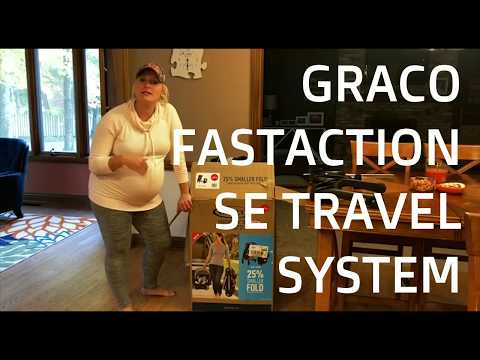 Graco FastAction SE Travel System Strollo and Infant Car Seat | Review and Easy Assembly