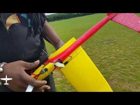 lidl-v-tail-glider-idea-number-two-1st-ever-pitcheron-build-n-test-flight