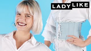 We Tried The Corset Trend! • Ladylike