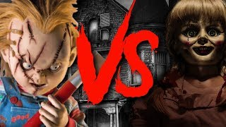 Chucky VS Annabelle Rap Battle EPIC! (Childs Play) | Daddyphatsnaps