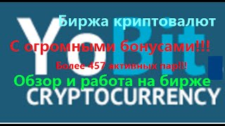 Yobit. net - обзор и работа на бирже криптовалют(Часть1) -Биржа с бонусом 80000 сатошей в день