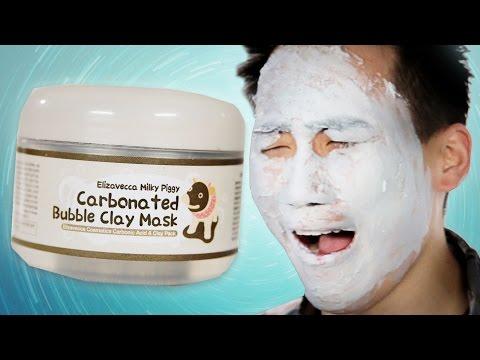 Facial mask laban sa mga itim na tuldok na may hydrogen peroxide