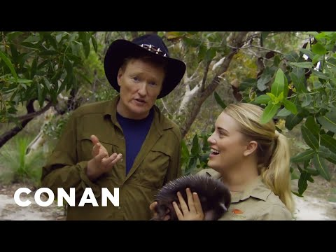 A Sneak Peek Of #ConanAustralia – Premiering 4/17 On TBS - CONAN on TBS (видео)