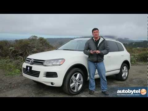 2012 Volkswagen Touareg TDI: Video Road Test and Review