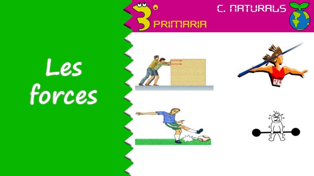 Ciències de la Naturalesa. 3r Primària. Tema 7. Les forces
