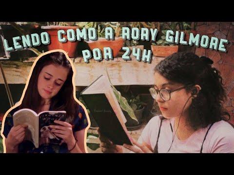 vlog de leitura // lendo por 24 horas como a rory gilmore