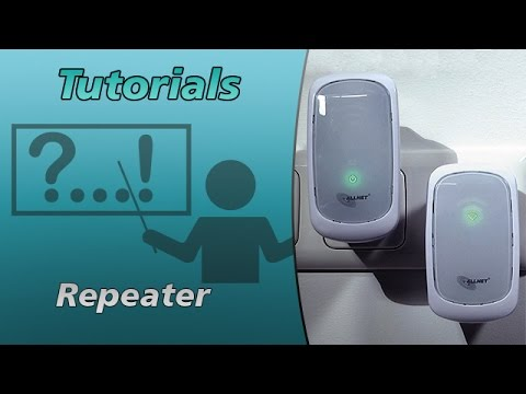 WLAN Repeater Installation | ALLNET