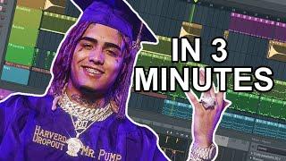 "How Lil Pump Made ""Racks On Racks"" In 3 Minutes"