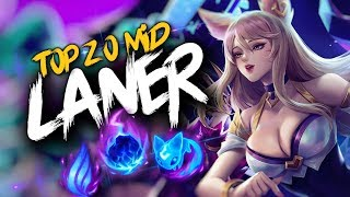 Top 20 MID LANER Plays #22 | League Of Legends