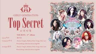 Girls' Generation (소녀시대) - Top Secret [LYRICS HAN-ROM-ENG]