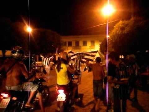 Torcida do galo no ManosKiu em Salinas-MG Campeão 2012 Invicto