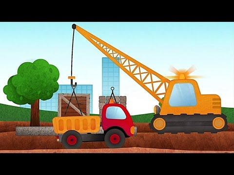 Tony der Kipplaster - Baustellenfahrzeuge, App für Kinder - iPad, iPhone