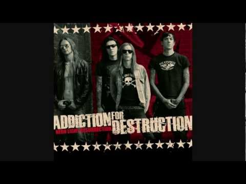 "ADDICTION FOR DESTRUCTION ""Neon Light Resurrection"" album preview"