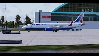 Microsoft Flight Simulator X - Самара - Екатеринбург - Boing 737-800 - TSO